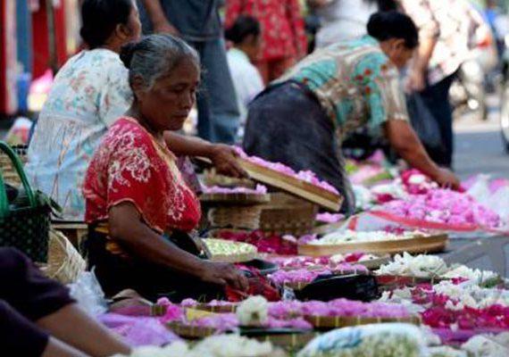 Pasar Kembang yang tidak pernah tertidur setiap harinya